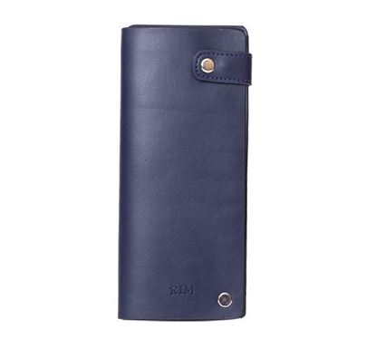 Faux Leather Card Holder RB-324 NAV