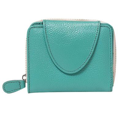 Leather Wallet for Ladies RB-326 AQU