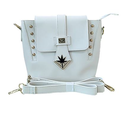 Leather Sling Bag for Ladies RB-387 WHIT