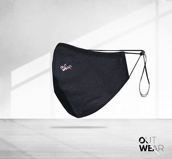 Outwear 2 Layer Mesh Fabric Mask OUT-01