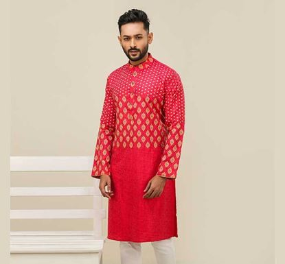 Semi Long Cotton Punjabi for Men – ES2376