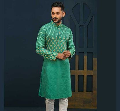 Semi Long Cotton Punjabi for Men – ES2377