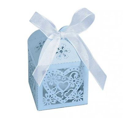 Love Heart Laser Cut Hollow Jewelry Gift Box RB-05LB