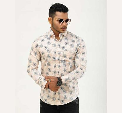 Slim Fit Cotton Shirt for Men ITS-28