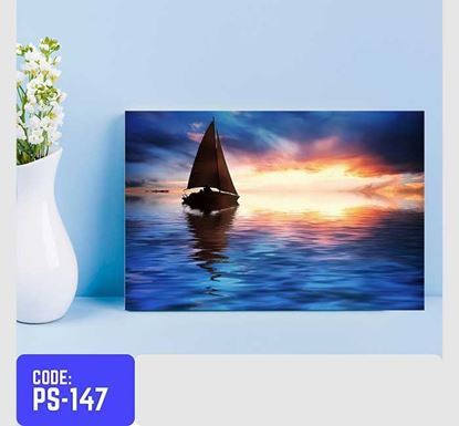 Tecmart Digital Printed Borderless Wooden Frame PS-147