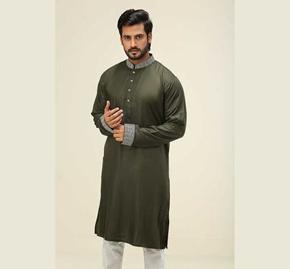 Linen Punjabi for Men K-108