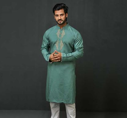 Linen Punjabi for Men K-180