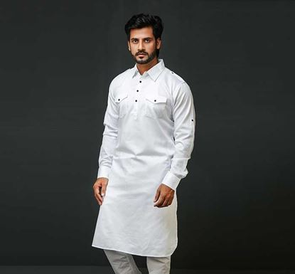 Linen Punjabi for Men K-170