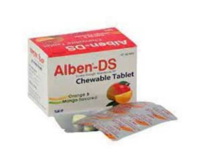 Alben DS Tablet 400mg (A000431) – 10 Pieces