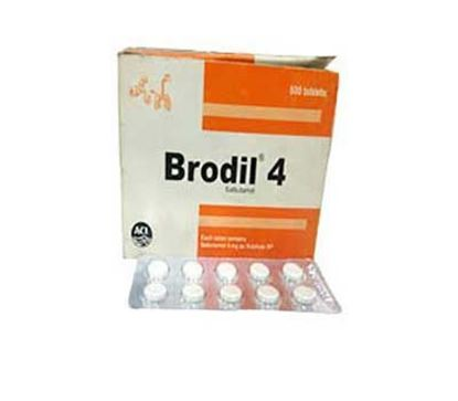 Brodil Tablet 4mg (A001817) – 20 Pieces