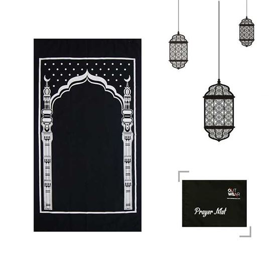Portable Pocket Jaynamaz with Bag Out-01