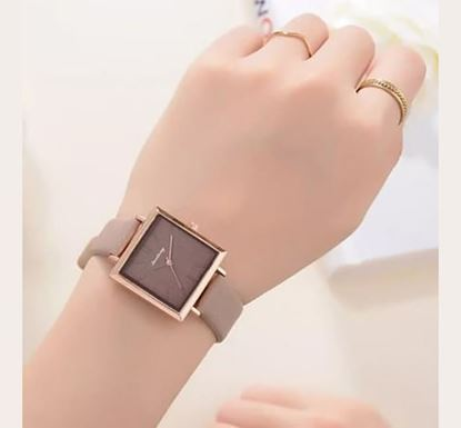 Artificial Leather Watch for Women SF-54