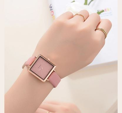 Artificial Leather Watch for Women SF-56