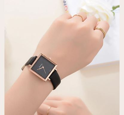 Artificial Leather Watch for Women SF-57