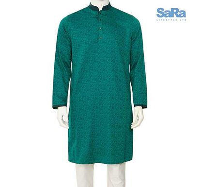 SaRa Regular Fit Punjabi for Men - TMP657