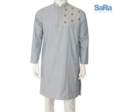 SaRa Regular Fit Punjabi for Men - THMP2007A
