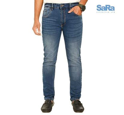 SaRa Slim Fit Denim Pant for Men - MSD201A