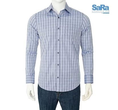 SaRa Slim Fit Formal Shirt for Men - MFS171FCA