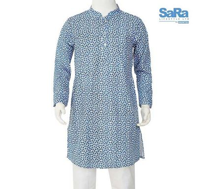 SaRa Cotton Printed Punjabi for Kids - THBP165AB