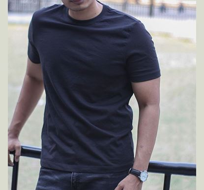 Cotton Half Sleeve T-shirt for Men T-04