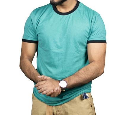 Cotton Half Sleeve T-shirt for Men - C2