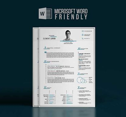 Professional Word Resume Template - 13540036