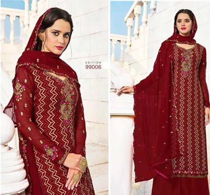 Designer Embroidery Dress Set – SUC 216