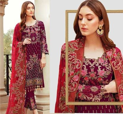 Designer Embroidery Dress Set – SUC 217