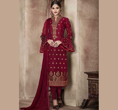 Designer Embroidery Dress Set – SUC 220