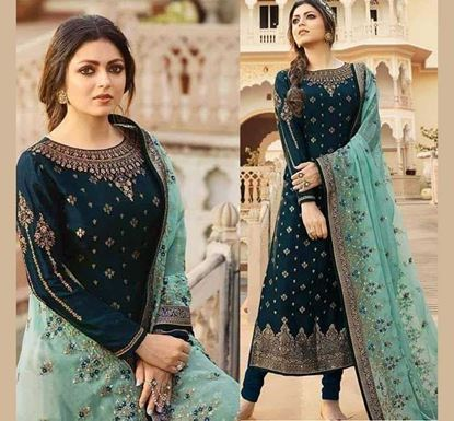 Designer Embroidery Dress Set – SUC 224