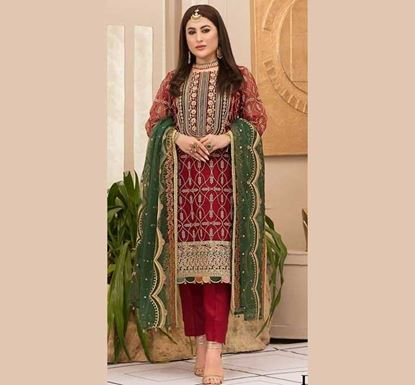 Designer Embroidery Dress Set – SUC 226