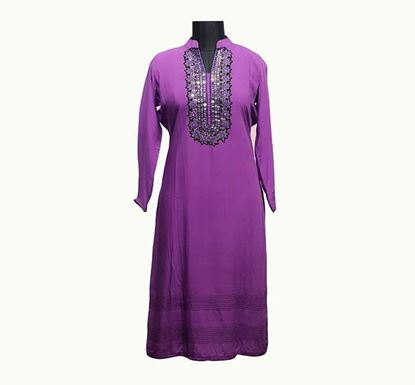 Premium Long Linen Kurti for Women - ELPRLK001