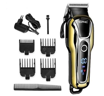 Kemei KM-1990 Rechargeable Electric Haircut Trimmer