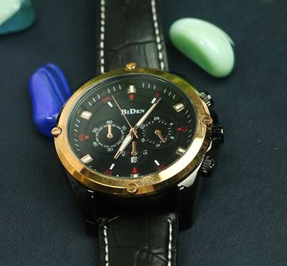 Artificial Leather Wristwatch for Men W-03