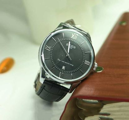 Artificial Leather Wristwatch for Men W-04f