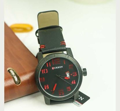 Artificial Leather Wristwatch for Men W-09