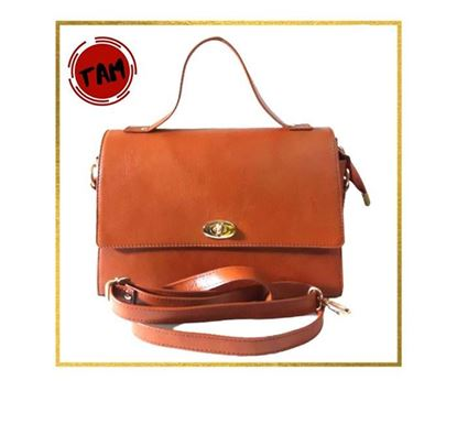 Leather Hand Bag for Women TAM-LB-74 MUS