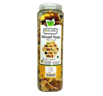 Acure Mixed Nuts 300 gm - ACURE067