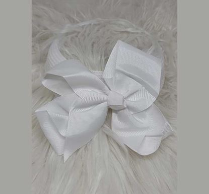 Rubber Quality Bow Style Hair Band for Kids TR-1514