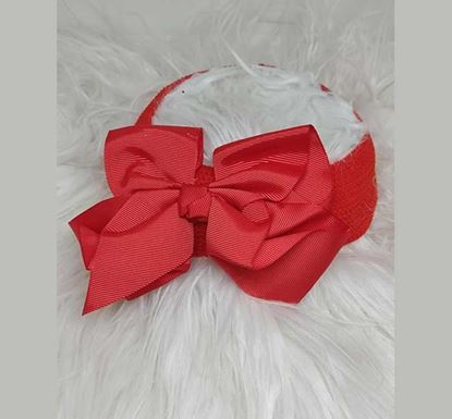 Rubber Quality Bow Style Hair Band for Kids TR-1515