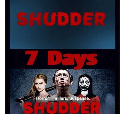 Shudder Premium Subscription for 7 Days (Private Account)