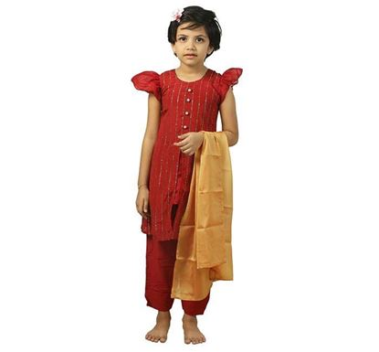 3 Pieces Dress Set for Girls - GTP382