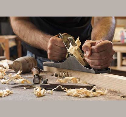 Hand Held Wood Planer with Blade