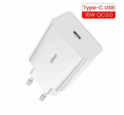 Baseus 18W Type C PD 3.0 Wall Charger Adapter
