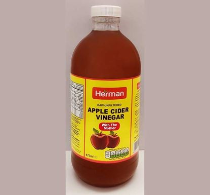 Herman Apple Cider Vinegar (Raw-unfiltered) with the Mother - 473ml