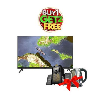 Buy Vision 32 Inch LED TV E10 Android Smart Infinity 873084 (Get Speaker & Electric Kettle Free)