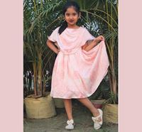 Silk Frock for Baby Girl - DB1086P