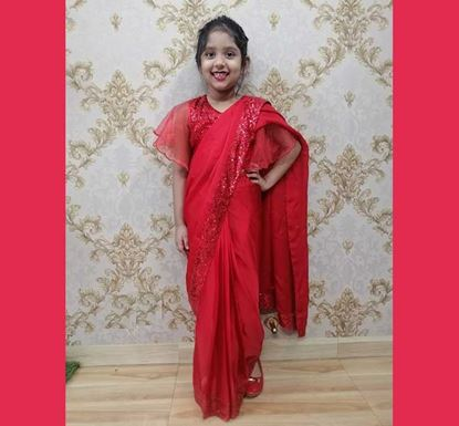 Saree for Baby Girl - DB1105R
