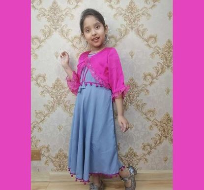 Long Frock with Koti for Baby Girl - DB1108A