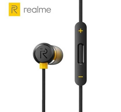Realme Buds 2 Orginal Subwoofer Stereo Wired Earphone with Mic